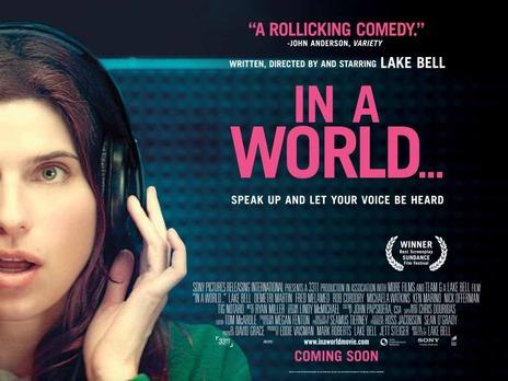 Visionado de la película In a Wold: Ganadora del Festival de Sundance 2013